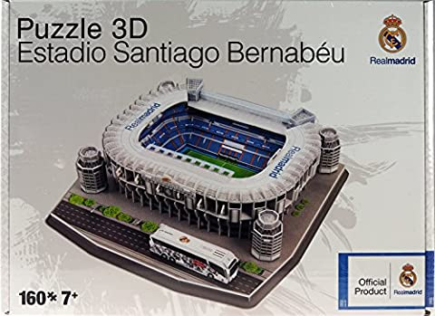 Real Madrid Football Stadium 3D Puzzle Model