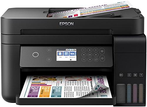 Epson ITS EcoTank L6170 - 3-in-1-Tintenstrahl-Multifunktionsgerät mit LCD-Bildschirm und Wi Fi Außergewöhnlich niedrige Druckkosten bis zu 14.000 Seiten im Schwarzweiß- und 11.200 Seiten in Farbe - 14 Seiten In Farbe