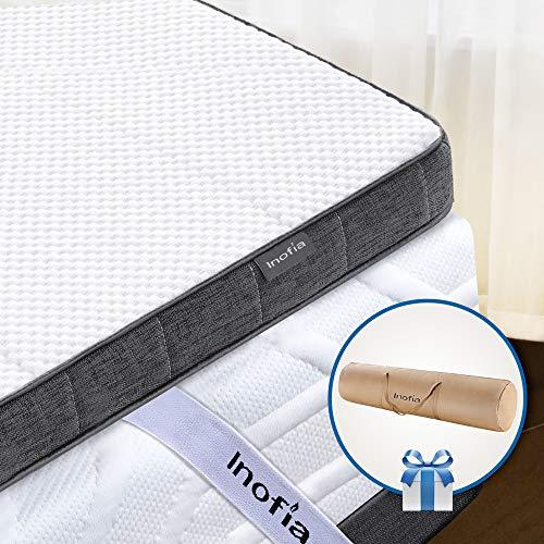 Inofia Single Gel Memory Foam Mattress Topper Review 2