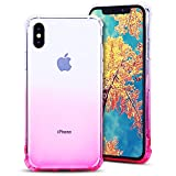 MoEvn Coque iPhone X Transparente, iPhone 10 Case, Souple Flexible Silicone Gel TPU...