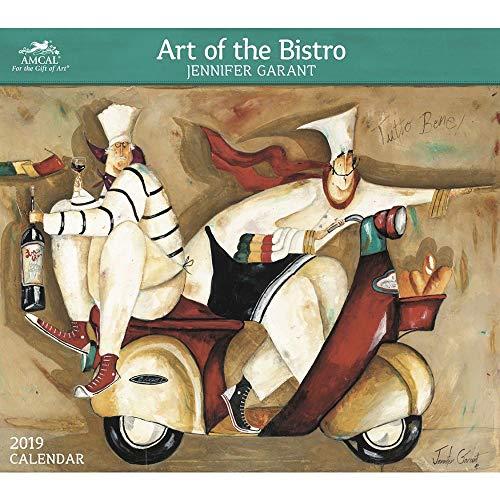 2019 Garant Art of Bistro Amcal 2019 Wandkalender, Lebensmittelkunst von ACCO Brands Jennifer Bistro