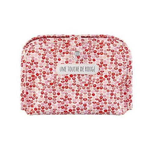 DLP Alice Make-up-Tasche mit rotem Touch