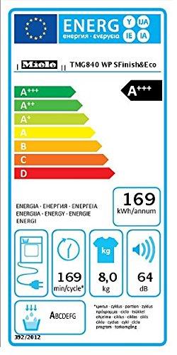 Miele TMG840WP D LW Steam FinishundEco Wärmepumpentrockner / A+++ / 8 kg / Weiß / Der schnelle Bügelersatz durch Dampfglätten – SteamFinish - 2