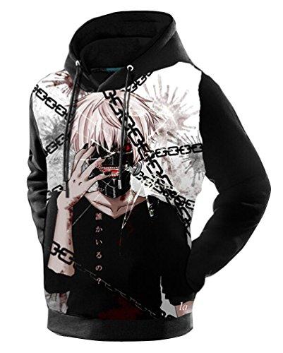 Capuche Brinny Costume À Hoodie Sweatshirt Longues Manches Jacke Pull Over Hoodies Fantaisiste 3d Cardiagn Anime Molletonné Manteau Sweatjacke BoexrdC