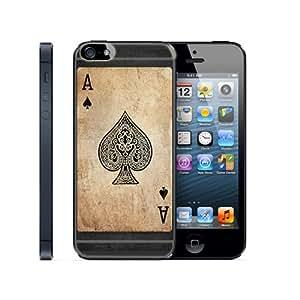 Case Schutzrahmen hülse Karte Karten Card Casino Cad02 Abdeckung für Iphone 6 Border Gummi Silikon Tasche Schwarz