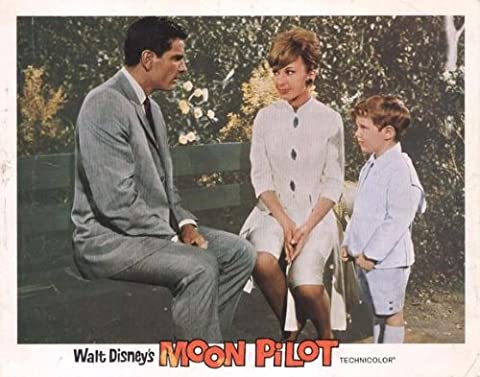 Moon Pilot Affiche Movie Poster (11 x 14 Inches - 28cm x 36cm) (1962) C