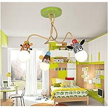 BRIGHTLLT Led eye Energie Kinder Zimmer deckenlampe kreativen Jungen und Mädchen Schlafzimmer cartoon Remote 3 SCHEINWERFER STEUERUNG