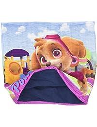 Paw Patrol niña Manguera bufanda Snood–Cortina con forro polar, color rosa o azul