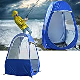GENERICOutdoor Camping Pop-up Tent 2 Doors Portable Toilet Shower Room Beach Fishing Shelter