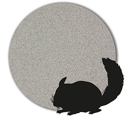 1 kg - 25 kg Chinchilla Sand Badesand hocherhitzt keimfrei samtweich hellgrau (10 kg)