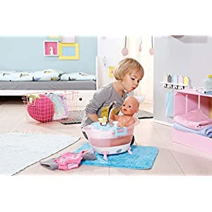 Zapf Creation BABY Born Interactive Bathtub with Foam