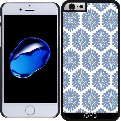 Coque pour Iphone SE - Fleurs Bleues by wamdesign Plastique Rigide