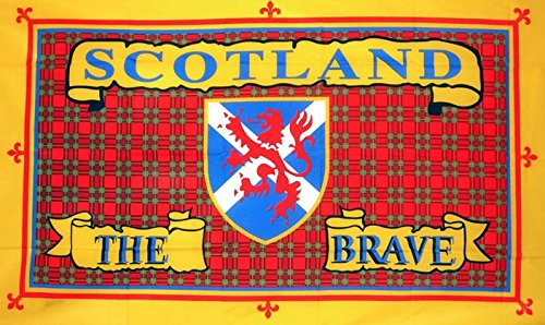 scotland-the-brave-flag-5ft-x-3ft-large-100-polyester-metal-eyelets-double-stitched
