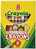 Binney & Smith Crayola (R) multicultural Crayons, especialidad de varios colores, caja de 8
