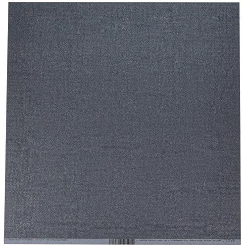 Unbekannt Bazzill Cdstk Krawatte, 30,5 x 30,5 cm, Schwarz (12x12 Schwarzen Cardstock Papier)