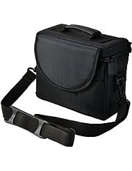 Cámara Funda bolsa para Panasonic Lumix FZ72FZ1000EB FZ330EB FZ300etc. puente cámara (negro)
