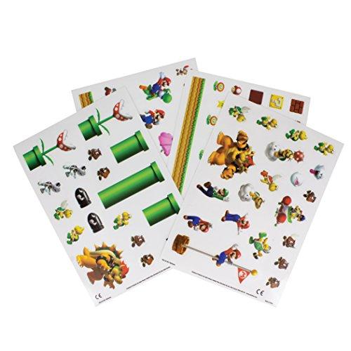 Super Mario Gadget adhesivos, multicolor
