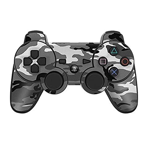 Sony Playstation 3 Skin pour manette Film de protection – Design Ensemble d'autocollants Styling pour manette PS3, Urban