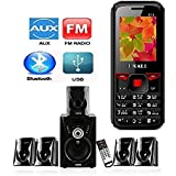 I KALL K16 Basic Feature Phone With 5.1 Bluetooth Speaker(Bluetooth, FM Radio, GPRS, Camera And 1000 Mah Battery)