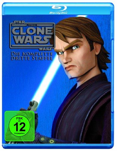 Star Wars: Clone Wars - Staffel #3 (BR) Min: 488DTS-HD5.1HD-1080p 3BR's [Import germany]