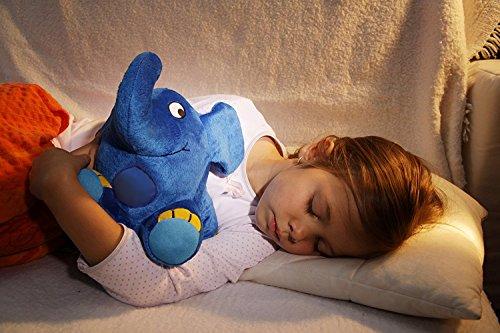 Imagen 5 de Ansmann 1800-0014 - Elefante de peluche con luz nocturna y nana para dormir [Importado de Alemania]