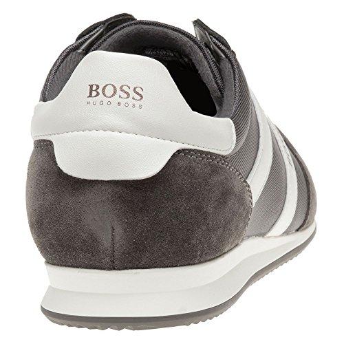 Boss Orange Orland Runn Homme Baskets Mode Gris Gris