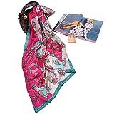 Seide Schal - silk Satin Chinesischer hochwertiger Schal silk Schal Kabeier100% silk silk Stickerei...