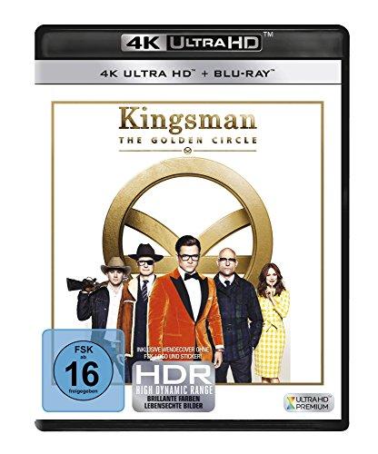 Kingsman 2: The Golden Circle - Ultra HD Blu-ray [4k + Blu-ray Disc]
