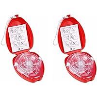 Cpr Beatmungsmaske Mit Filter,Homesupply 2 Stück CPR Tasche Rescue Maske mit aufgedruckter Ersthelfer-Anleitung... preisvergleich bei billige-tabletten.eu