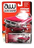 Dodge Dart Swinger 1971 pink auto world 1:64