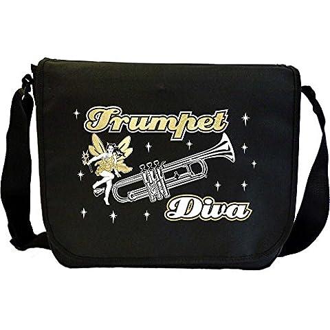 Trumpet Diva Fairee - Sheet Music Document Bag Borsa Spartiti