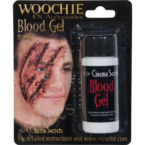 WOOCHIE BloodGel 1oz BL001C (1oz black blood type glue Dos) (japan import) ()