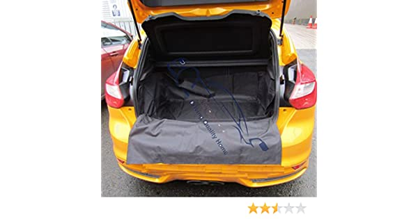 Waterproof Rear Car Boot Liner with Bumper Protector 2001-2016 Honda Jazz