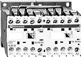 Schneider LC2K0610P7 Wendeschützkombination, 3p+1S, 2,2kW/400V/AC3, 6A, Spule 230V 50/60Hz