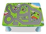 Stadt Möbelfolie / Aufkleber - MME03 - passgenau für den MAMMUT Tisch (eckig) von IKEA - Mit wenigen Handgriffen zum einzigartigen Spieltisch für Kinder! (Möbel nicht inklusive!!!)