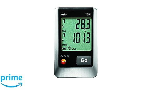 Laser Entfernungsmesser Datenlogger : Testo datenlogger druck temperatur und feuchte p