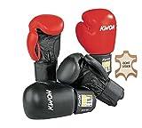 Kwon Boxhandschuh Pointer Leder rot