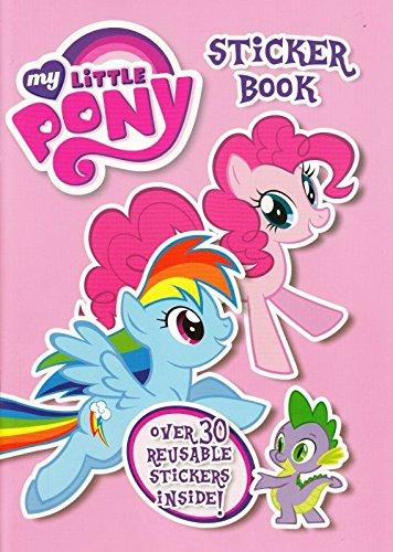 Little Pony Aufkleber Buch ()