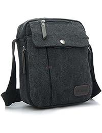 Hrph Vintage Canvas Men  s Women Crossbody Bag Shoulder Messenger Bags  Handbag Male Casual f876c59b11fe2