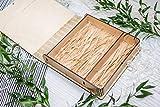Plywoods USB-Box (ohne USB) Druck & USB-Flash-Laufwerk-Box Personalisieren Flash Drive Foto Box Geschenk Hochzeit Box Box Proofbox für Foto Geschenk Light Raffia 16GB