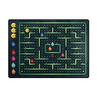 Orediy Soft Rugs Monster Maze Game Lightweight Area Rugs Kids Playing Floor Mat Non Slip Yoga Nursery Rug for Living Room Bedroom