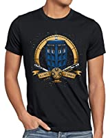 style3 Who Geronimo T-Shirt Homme dalek dr. time police box doctor space tv