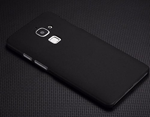 WOW Imagine™ Rubberised Matte Hard Case Back Cover For LeEco Le 2- Pitch Black