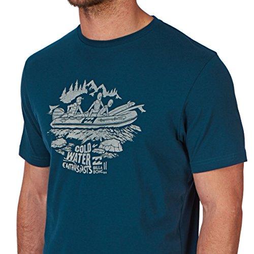 Herren T-Shirt Billabong Freezing T-Shirt Marine