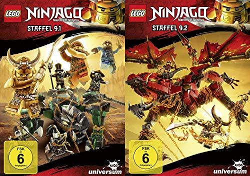 Lego Ninjago Staffel 9 (9.1.+9.2) im Set - Deutsche Originalware [2 DVDs]
