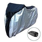 2win2buy Fahrradabdeckung Wasserdicht Regenschutz Staubdicht Schneefest Fahrradgarage Fahrradschutzhülle Fahrrad Cover für Mountainbike Rennrad Motorrad 190,5 x 66 x 99,1cm