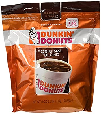 Dunkin Donuts Original Blend Ground Coffee - 40 Oz by Dunkin Donuts