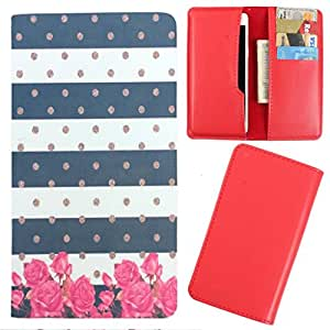 DooDa - For Spice Stellar Virtuoso (Mi-495) PU Leather Designer Fashionable Fancy Case Cover Pouch With Card & Cash Slots & Smooth Inner Velvet