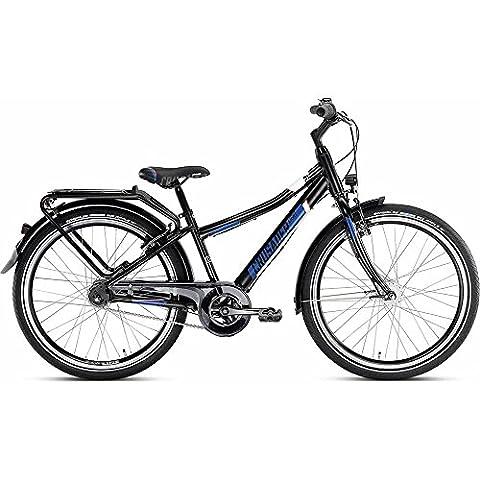 Puky Crusader 24-7 Alu City Light Kinder Fahrrad schwarz (Puky Crusader)