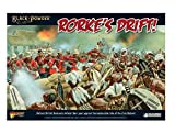 Image for board game Warlord Games - 302614601 - Rorkes Drift Battle Set - Black Powder - 28mm Wargaming Miniatures - Anglo Zulu War 1879 - Includes 60+ Figures